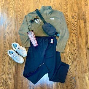 Black Running Room Track Pants